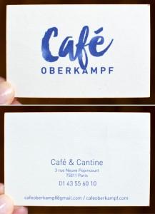 Café Oberkampf ©TendanceFood.com