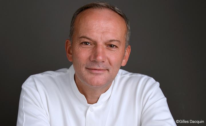 Le chef Christian Le Squer ©Gilles Dacquin / Le Cinq Restaurant