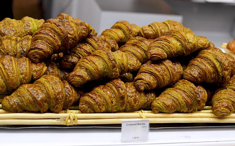 Croissants au thé vert - Sadaharu Aoki- Salon du Chocolat 2015 ©TendanceFood.com