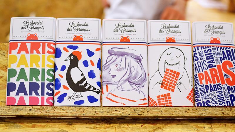 Le Chocolat des Français - Salon du Chocolat 2015 ©TendanceFood.com