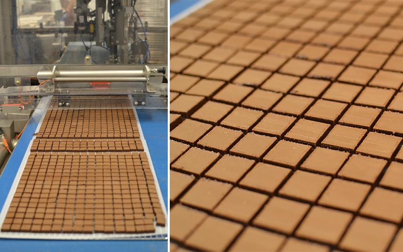Ganache détaillée - La Maison du Chocolat © Tendance Food