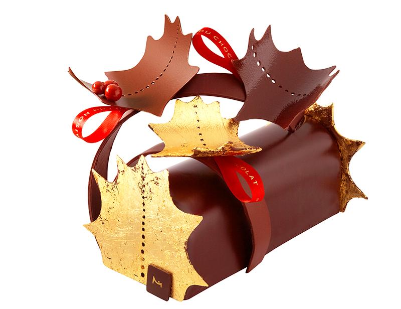 Bûche Féerique 2015 – La Maison du Chocolat ©Caroline-Faccioli